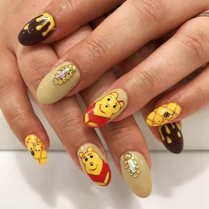 Disney Acrylic Nails