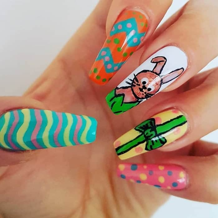 easter coffin nails