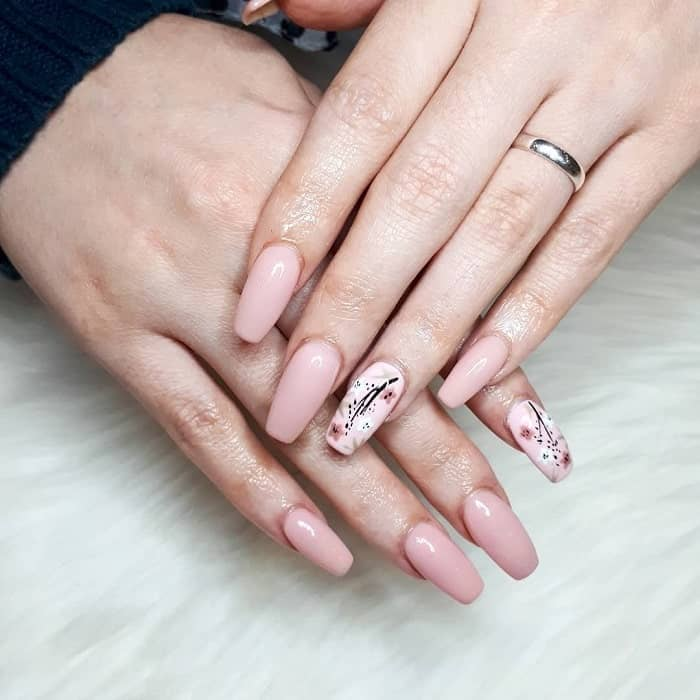 easy spring nail design