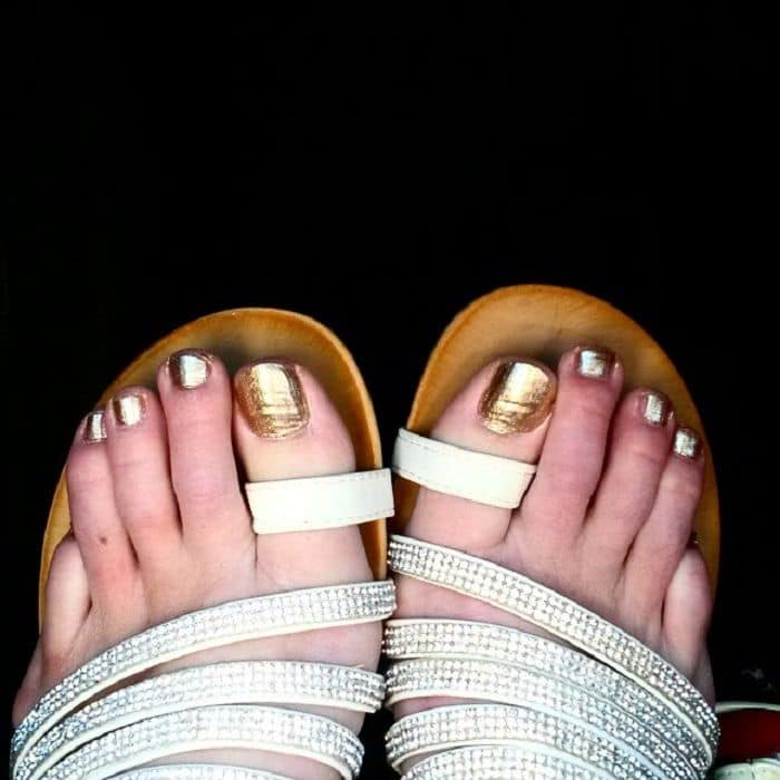 Gold Toe Nails
