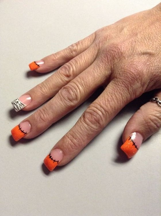 75 Mind-Boggling French Tip Nail Design Ideas – NailDesignCode