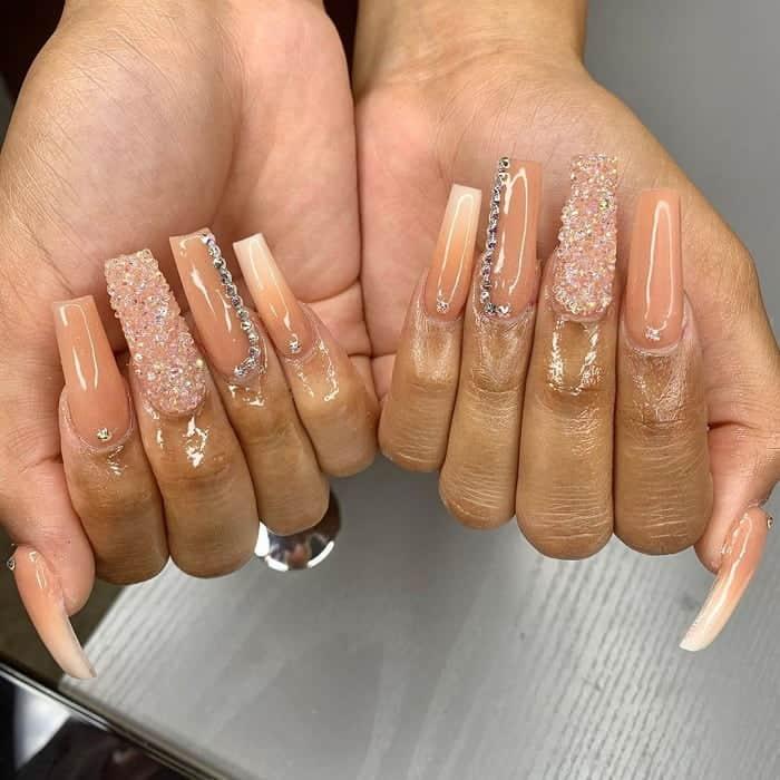 long prom nails