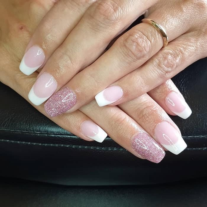 nexgen nails with french tip