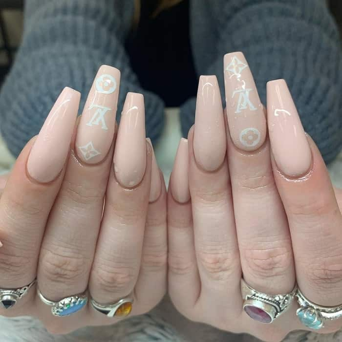 Nude Acrylic Nails