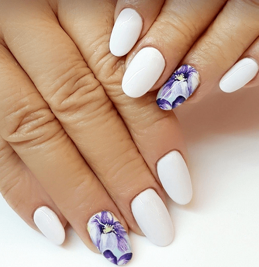 Oval Nails Design Tumblr 70 Oval Shaped ...