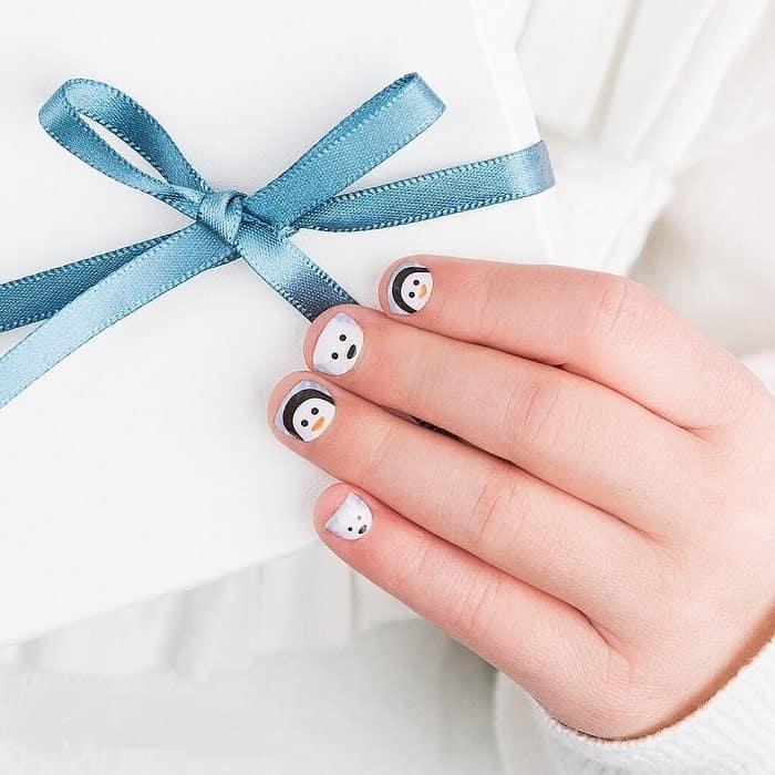 short nails for little girl