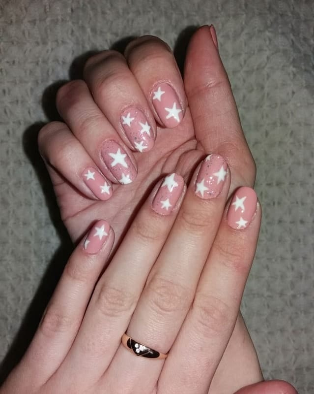 short prom nails