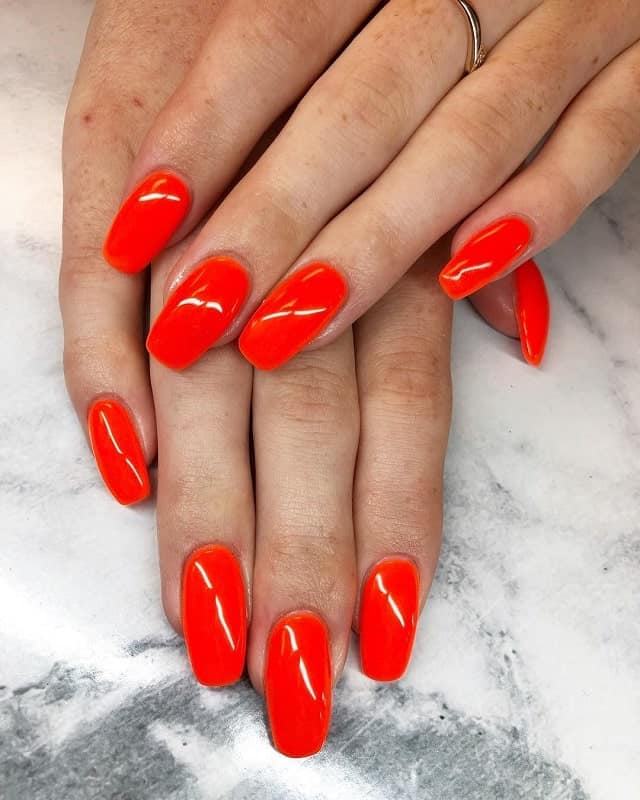 square oval acrylic nails