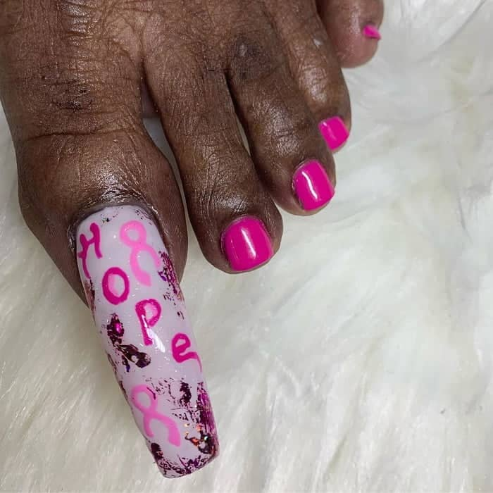 Big Toe Nail Design