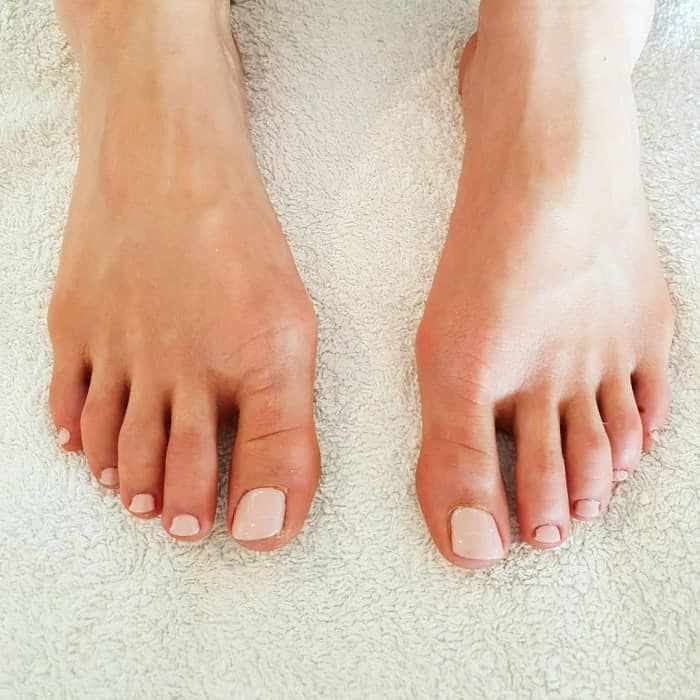 Nude Toe Nails