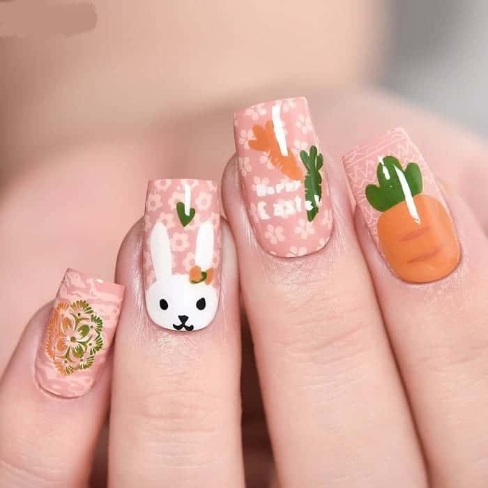 easter nail color
