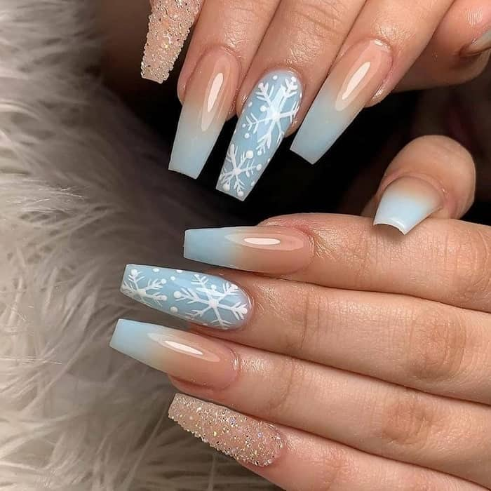 Pastel Ombre Nail Design