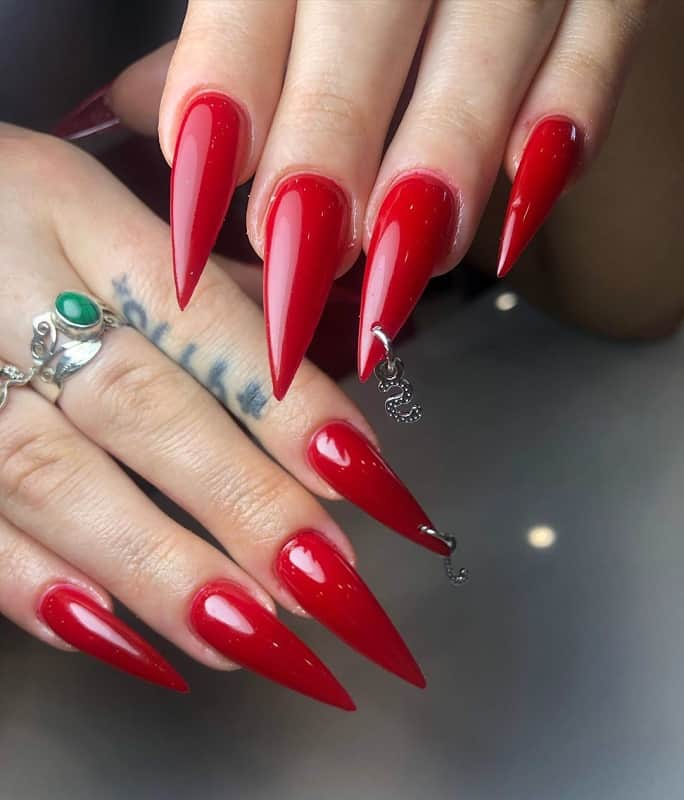 classic piercing nail