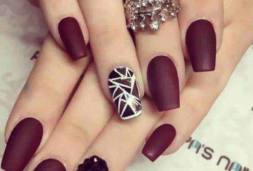 12 elegant black  silver nail designs in 2020